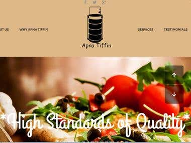 Online Tiffin Service Web Application