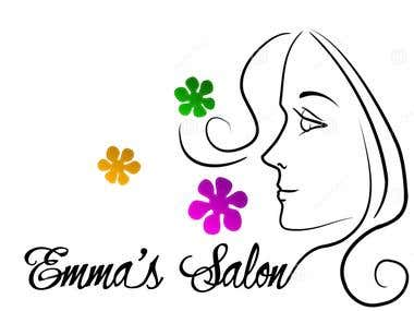 Emma's Salon Logo