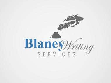 LOGO FOR Blaney writing service