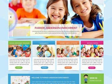 Website Parker Anderson enrichment