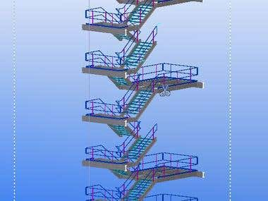 Tekla Steel Project