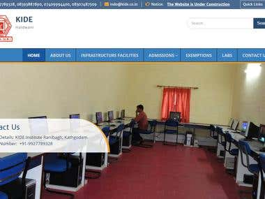 Ecuational ERP System, Colleges Websites