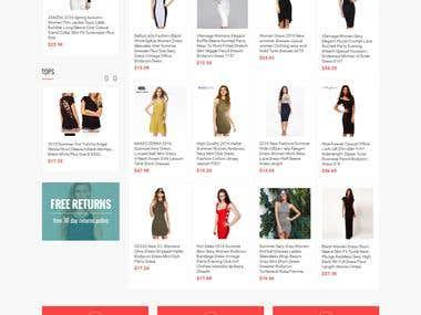 Fashion Ecommerce Site