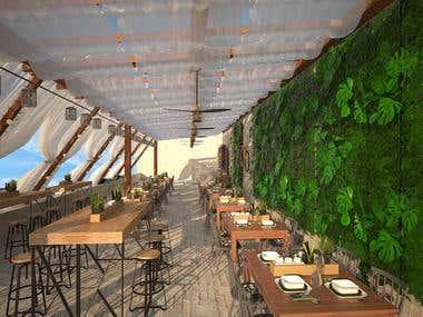 Seaside restaurant and Trattoria