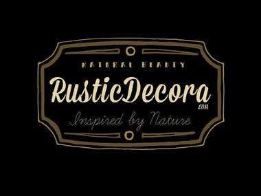 Logo Design RusticDecora