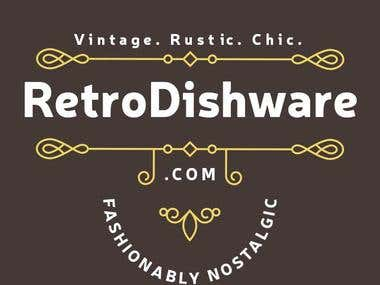 RetroDishware LOGO Design
