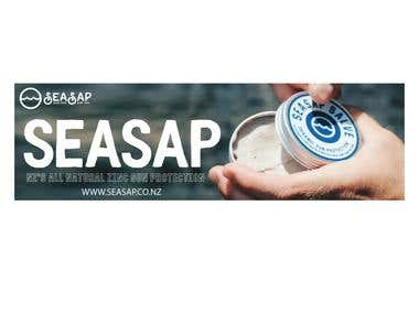 Simple Seasap Banner Design