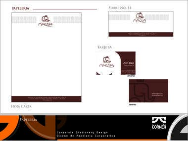 Corporate Stationery Design Diseño de Papeleria Corporativa