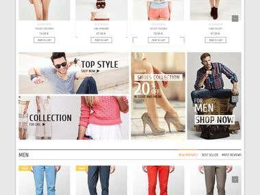 Online eCommerce System
