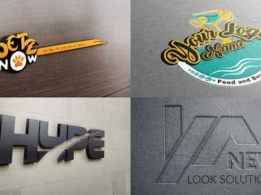 My Logo Designs + Stationery item Samples Design