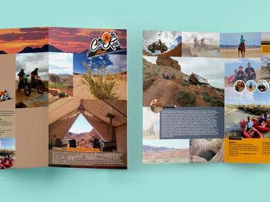 Bi-Fold Brochure for Camp & Ride.
