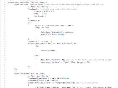 NodeJS API Development