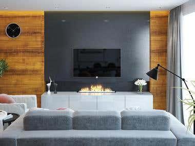 Interior Design/3D Rendering
