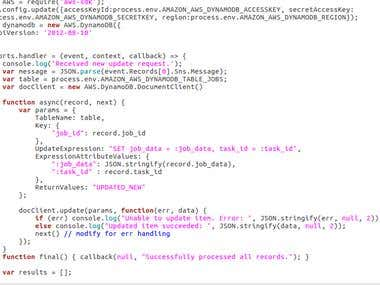 AWS Lambda Development