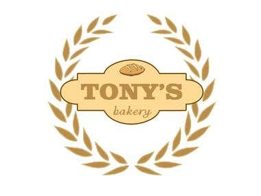 Tony's Bakery Logo
