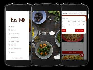 Online food ordering solution