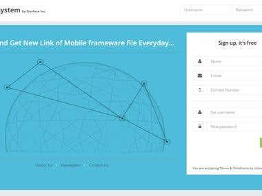 File Sharing and Content Distribution platform - Web App.
