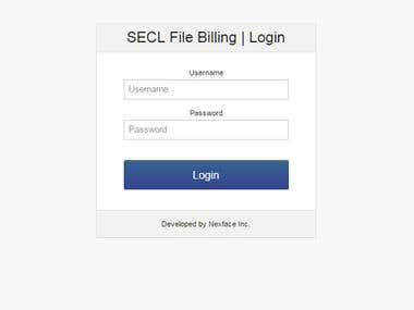 Billing and Office Management system for Support Team