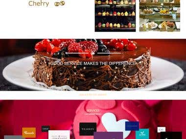 Gold Cherry Cakes webcite