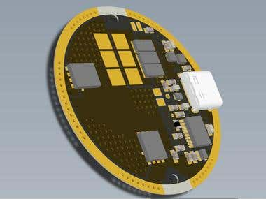 High power single sided FET driver