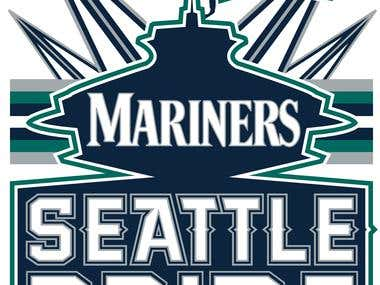 SEATTLE MARINERS T-SHIRT DESIGN CONTEST ENTRY