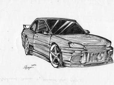 Nissan Skyline GTR 34
