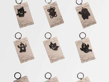 Keyholder + Package Design