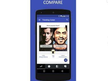 Cone app (Voting app)