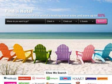 Hotel Finder Website