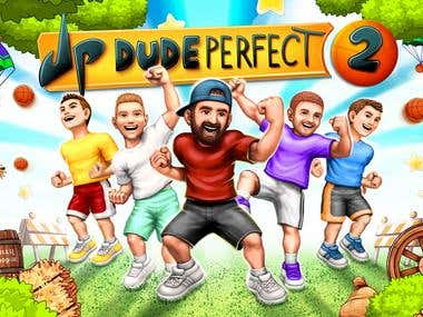 Dude Perfect 2(Action Game)
