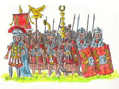 Romans On The March