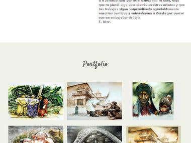 Sitio Web - Responsive - Galeria de Imagenes -