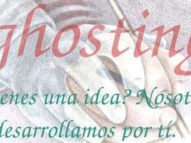 GhostingUruguay - ghostwriting logo