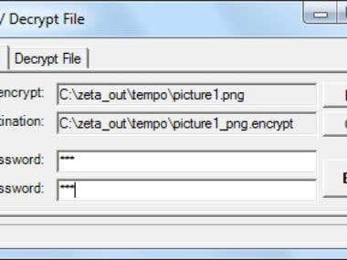 image encryptor