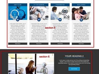 Chatbot wordpress website for software