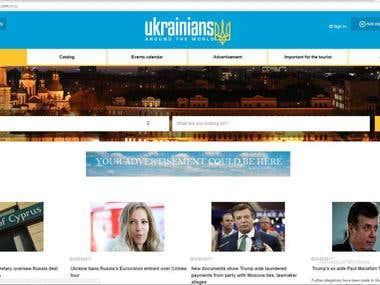 Ukrainians around the world