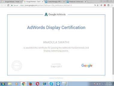 Google Display Certified