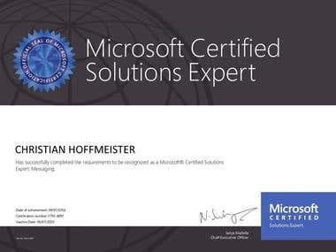 Microsoft Solution Expert : Messaging