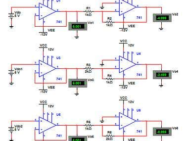 Design and Simulation of Electronic Circuits