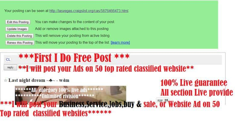 Craigslist Live ADS All Category In USA and Canada | Freelancer