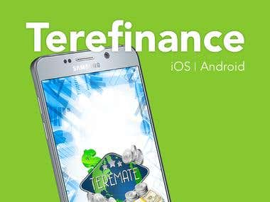 Terefinance - Android, iOS apps and Web Admin tool
