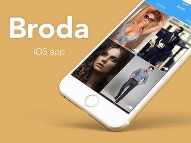 Broda - iOS app and Web Admin tool