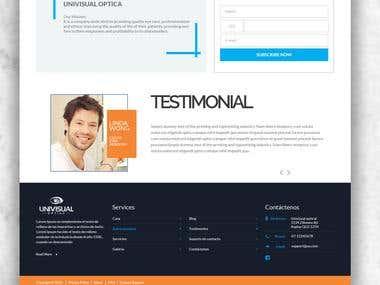 Website Mockup | UX UI Design