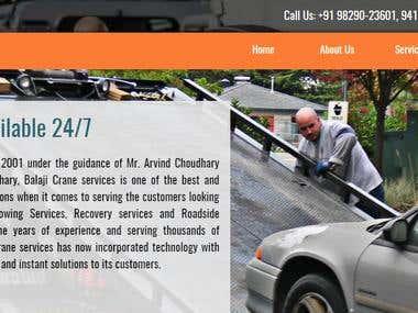Balaji Crane services