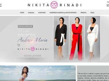 Online Shop NIkita Rinadi