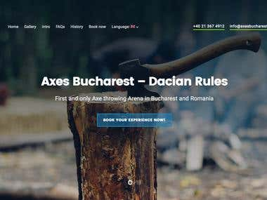 Presentation Website Axes Bucharest