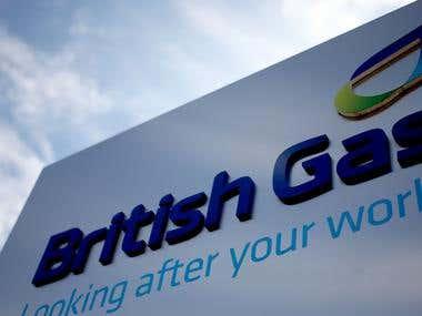 BRITISH GAS   DIGITAL