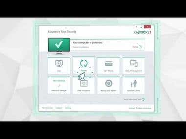 Motion Screencast - Kaspersky Total Security 2016
