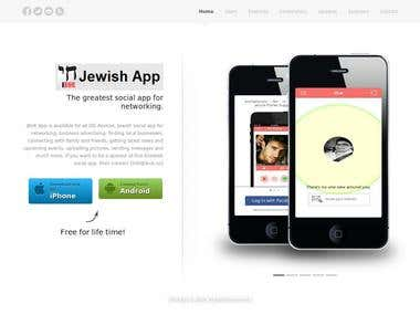 Mobile App Responsive Website