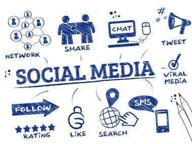 Social-media-marketing(SMM)